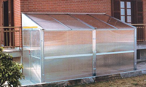 Serre policarbonato da orto e giardino torino piemonte for Serra agricola usata