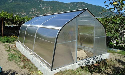 Serre policarbonato da orto e giardino torino piemonte for Serre da giardino policarbonato
